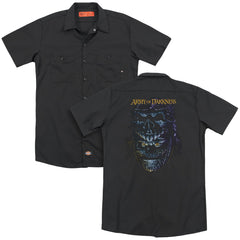 Army Of Darkness Evil Ash Adult Work Shirt