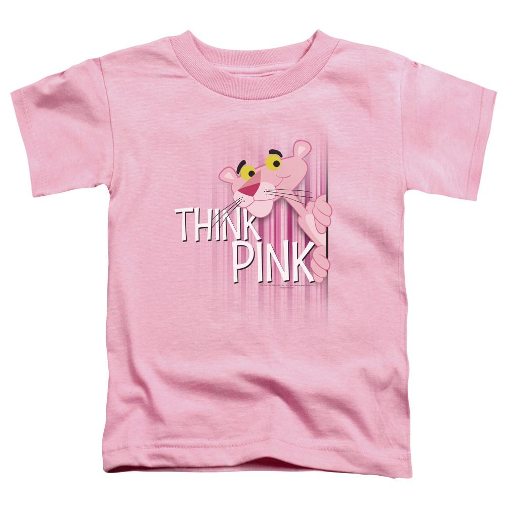 Pink Panther Think Pink Toddler T-Shirt