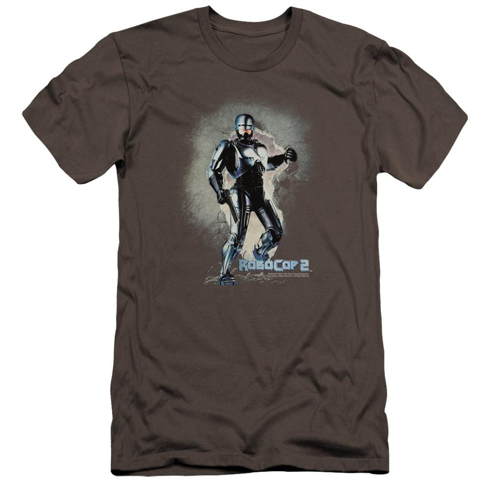 Robocop Break On Through Premium Adult Slim Fit T-Shirt