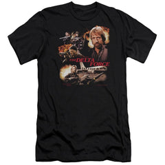 Delta Force Action Pack Premium Adult Slim Fit T-Shirt