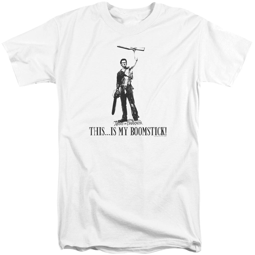Army Of Darkness Boomstick! Adult Tri-Blend T-Shirt