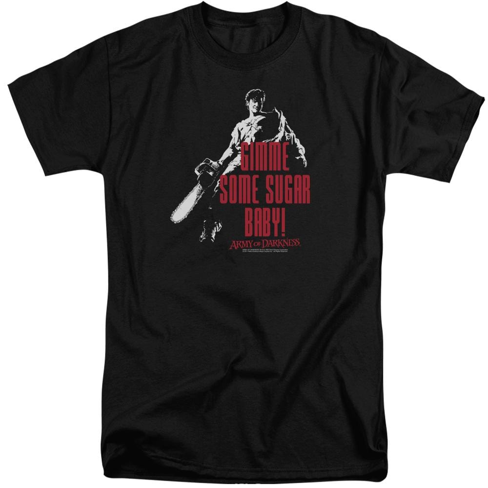 Army Of Darkness Sugar Adult Tall Fit T-Shirt