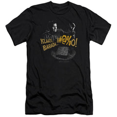 Army Of Darkness Klaatu...barada Premium Adult Slim Fit T-Shirt