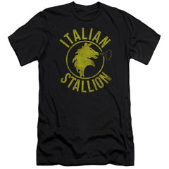Rocky Italian Stallion Horse Premium Adult Slim Fit T-Shirt