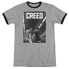 Creed - Poster Adult Ringer T- Shirt