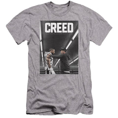 Creed Poster Premium Adult Slim Fit T-Shirt