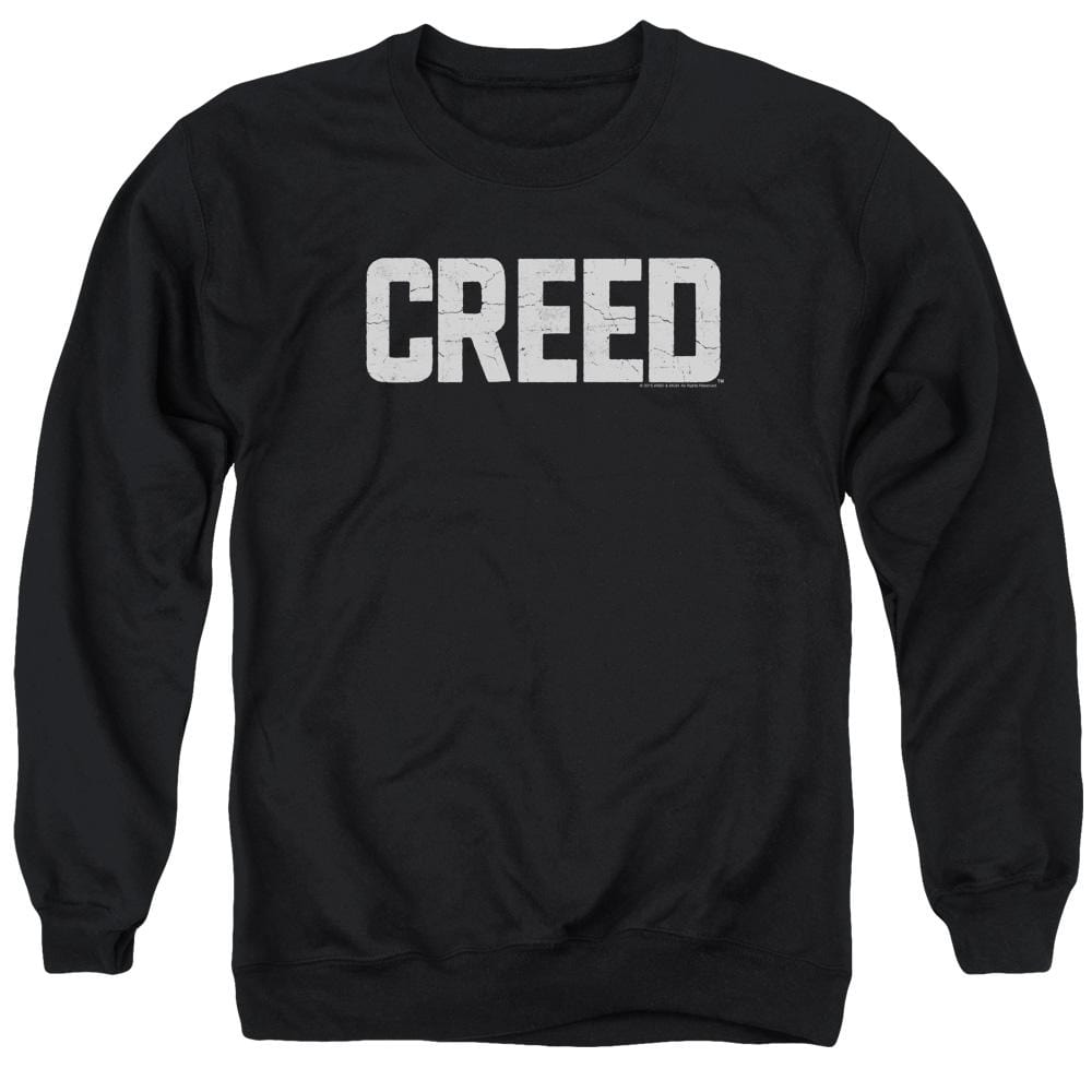 Creed - Cracked Logo Adult Crewneck Sweatshirt