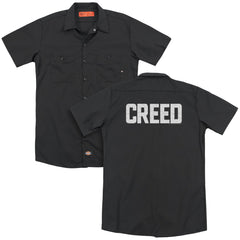 Creed Cracked Logo Adult Work Shirt