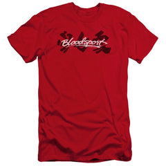 Bloodsport Kanji Premium Adult Slim Fit T-Shirt