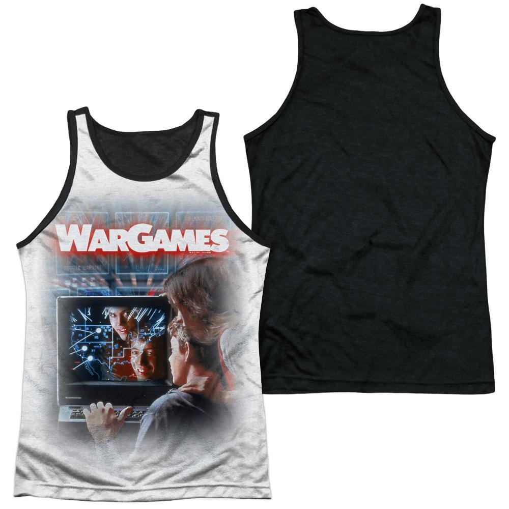 Wargames - Poster Adult Tank Top