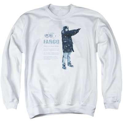 Fargo This Is A True Story Men's Crewneck Sweatshirt