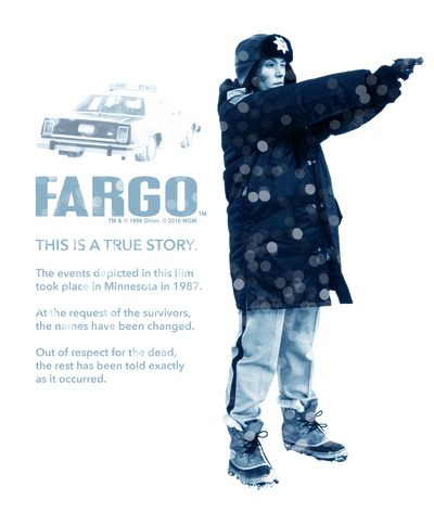 Fargo This Is A True Story Pullover Hoodie