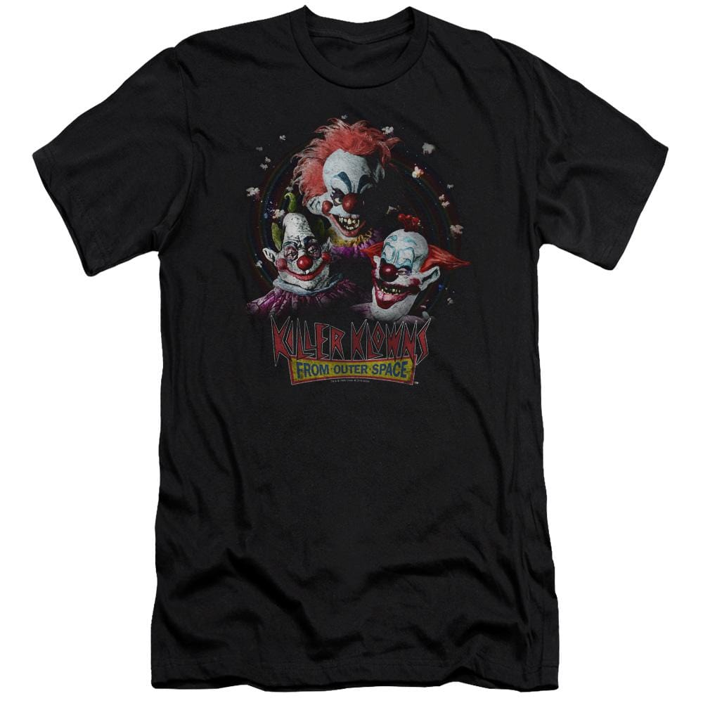 Killer Klowns From Outer Space Killer Klowns Premium Adult Slim Fit T-Shirt
