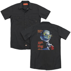 Killer Klowns From Outer Space Invaders Adult Work Shirt