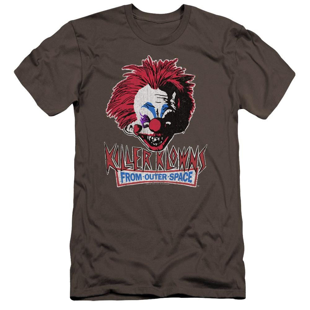 Killer Klowns From Outer Space Rough Clown Premium Adult Slim Fit T-Shirt