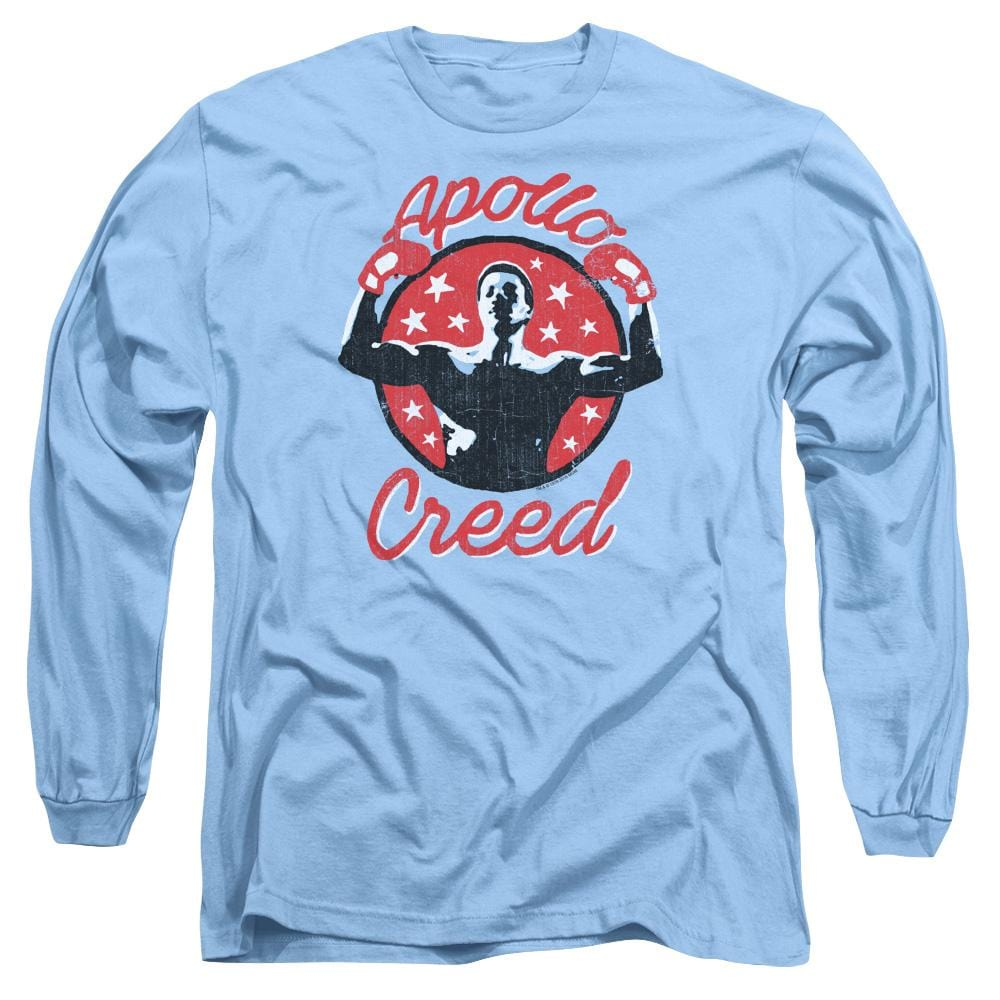 Rocky Apollo Star Adult Long Sleeve T-Shirt