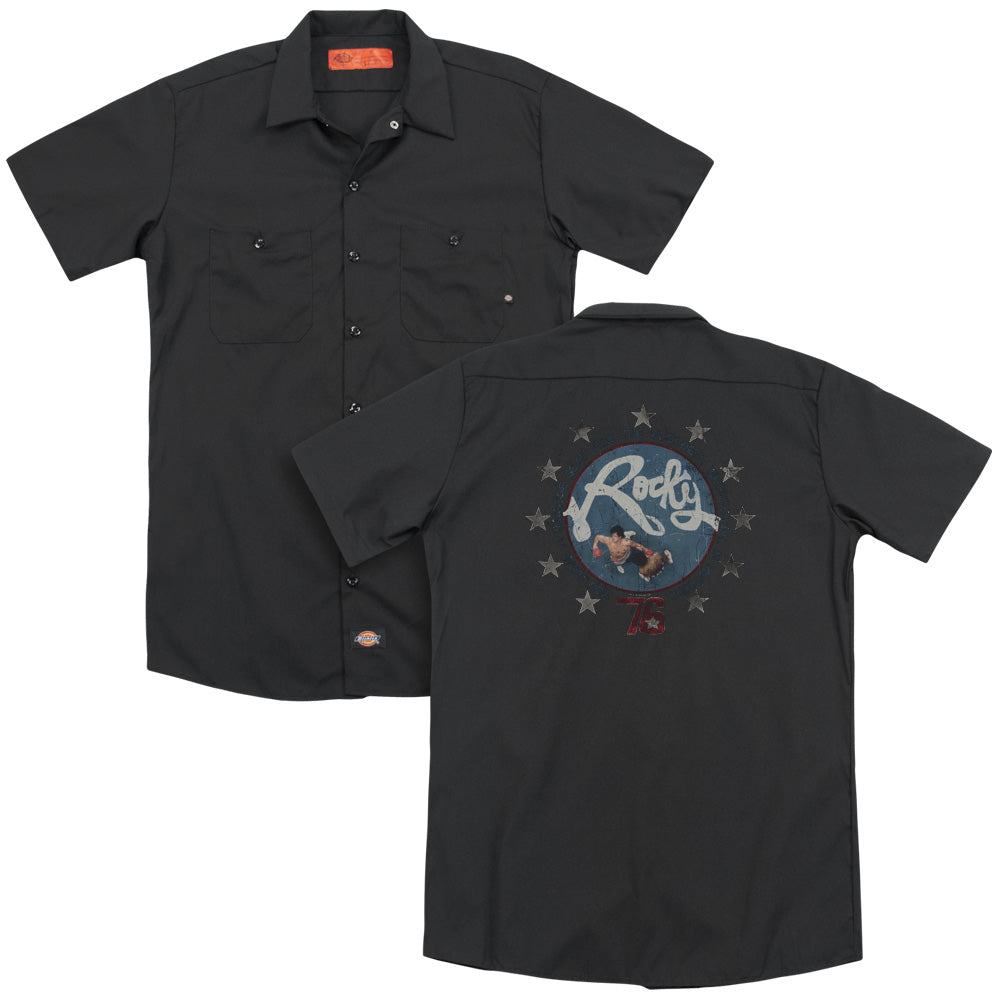 Rocky Bloodiest Bicentennial Adult Work Shirt
