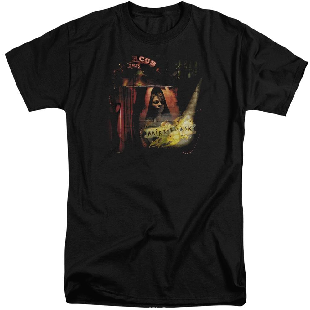 Mirrormask Big Top Poster Adult Tall Fit T-Shirt