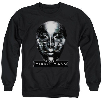 Mirrormask Mask Men's Crewneck Sweatshirt