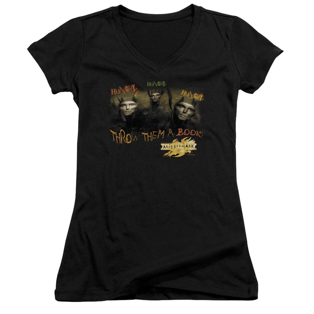 Mirrormask Hungry Junior V-Neck T-Shirt