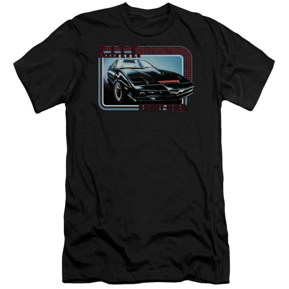 Knight Rider Kitt Premium Adult Slim Fit T-Shirt