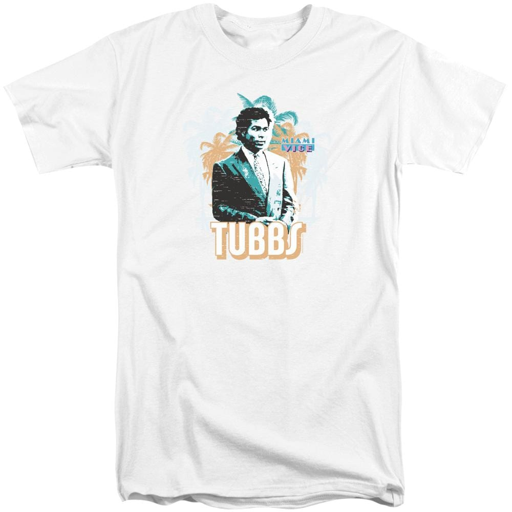 Miami Vice Tubbs Adult Tall Fit T-Shirt