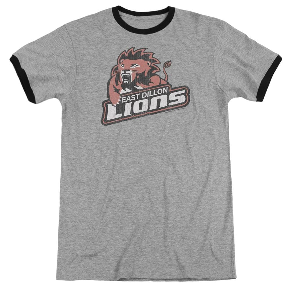 Friday Night Lts - East Dillion Lions Adult Ringer T- Shirt