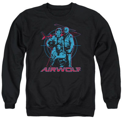Airwolf Graphic Men's Crewneck Sweatshirt