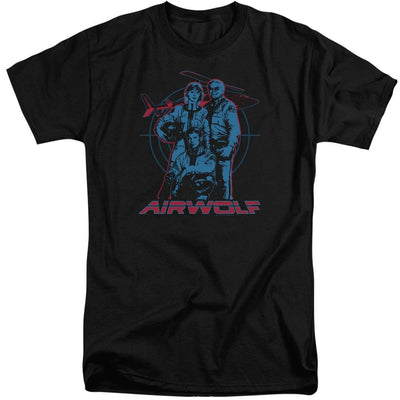Airwolf Graphic Men's Tall Fit T-Shirt