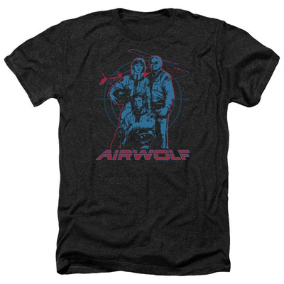 Airwolf Graphic Men's Heather T-Shirt