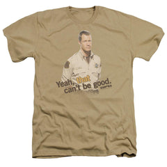 Eureka That Can't Be Good Adult Regular Fit Heather T-Shirt