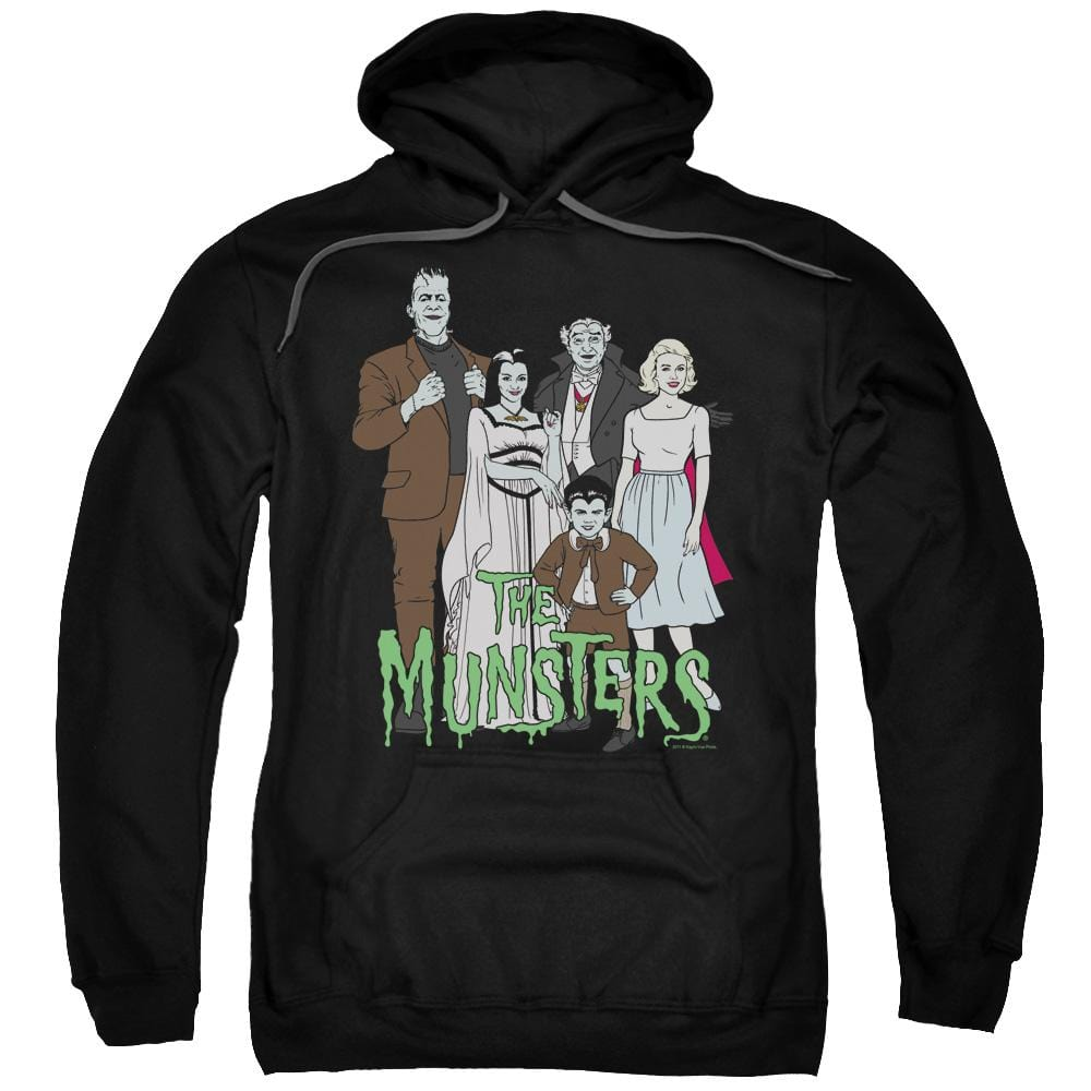 The Munsters - The Family Adult Pull-Over Hoodie