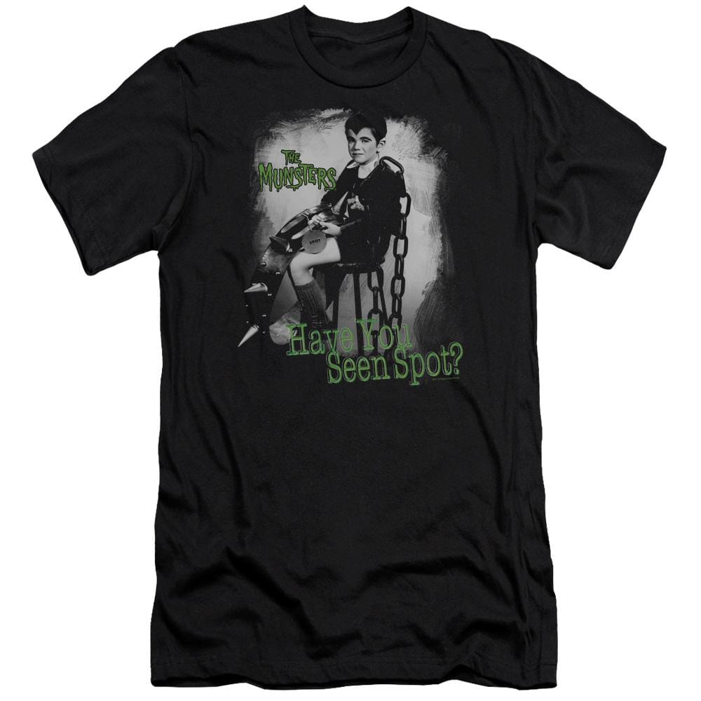 The Munsters Have You Seen Spot Premium Adult Slim Fit T-Shirt