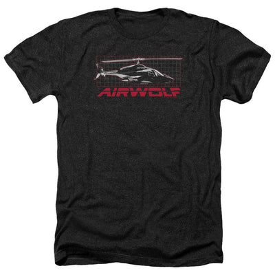 Airwolf Grid Men's Heather T-Shirt