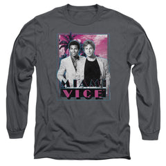 Miami Vice Gotchya Adult Long Sleeve T-Shirt