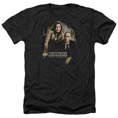 Law And Order Svu Helping Victims Adult Regular Fit Heather T-Shirt