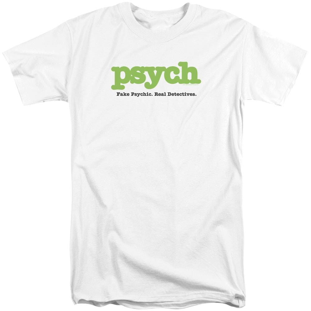 Psych Title Adult Tri-Blend T-Shirt