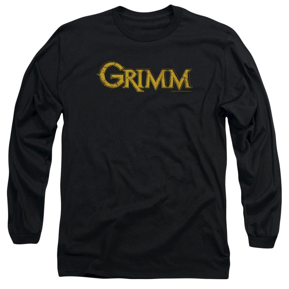 Grimm - Gold Logo Adult Long Sleeve T-Shirt
