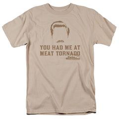 Parks And Rec Meat Tornado Adult Regular Fit T-Shirt