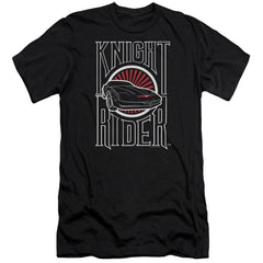 Knight Rider Logo Premium Adult Slim Fit T-Shirt
