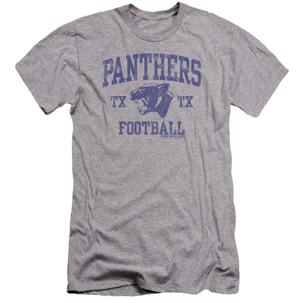 Friday Night Lights Panther Arch Premium Adult Slim Fit T-Shirt