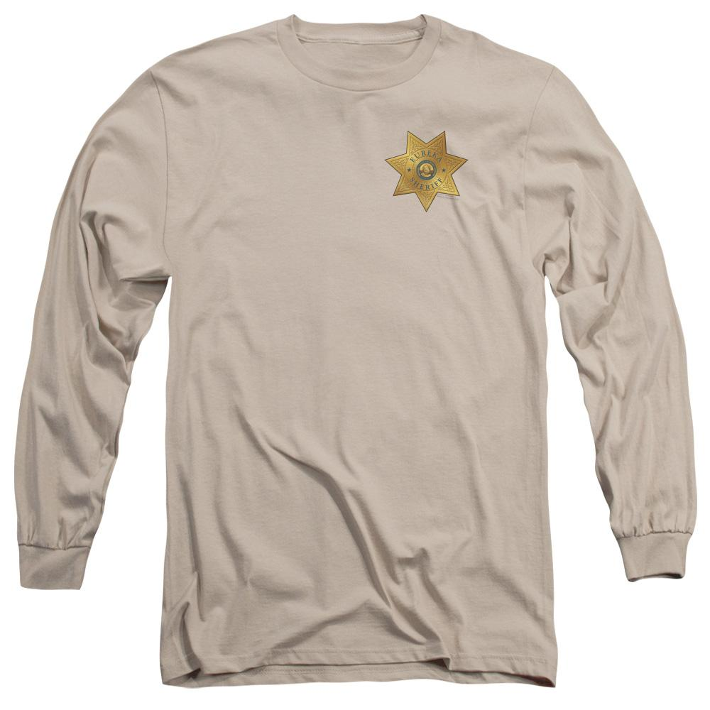 Eureka Badge Adult Long Sleeve T-Shirt