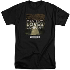 Warehouse 13 Mystery Loves Adult Tri-Blend T-Shirt