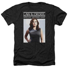 Law And Order Svu Behind Closed Doors Adult Regular Fit Heather T-Shirt