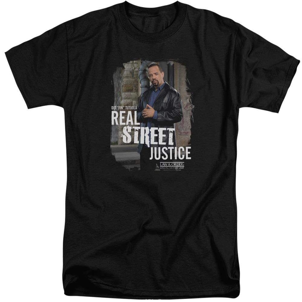 Law And Order Svu Street Justice Adult Tall Fit T-Shirt