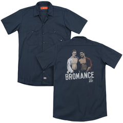Saved By The Bell Bromance Adult Work Shirt