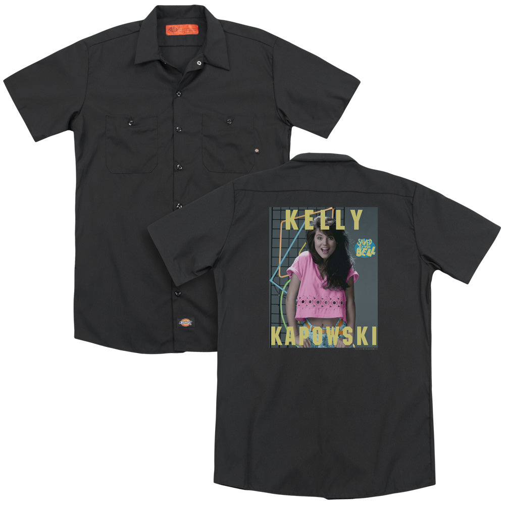 Saved By The Bell Kelly Kapowski Adult Work Shirt