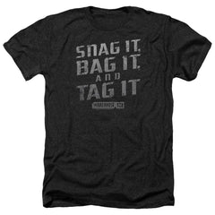 Warehouse 13 Snag It Adult Regular Fit Heather T-Shirt