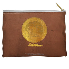 Parks And Rec - Pawnee Seal Straight Bottom Pouch