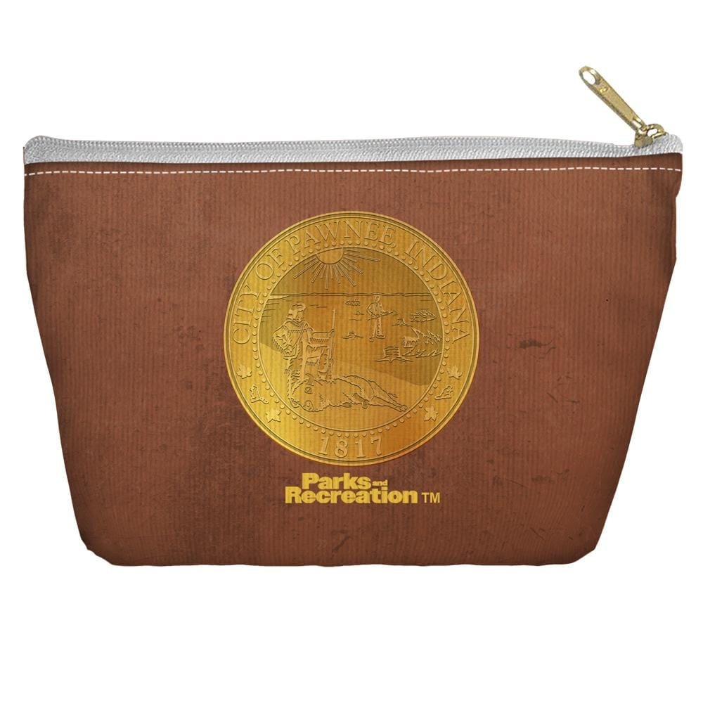 Parks And Rec - Pawnee Seal Tapered Bottom Pouch